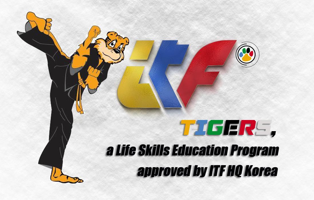 Tiger instructeursopleidingen in nieuwsbrief ITF HQ Korea