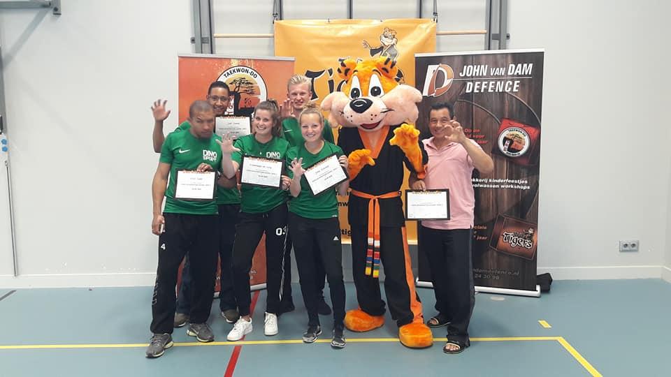 Nieuwe Level 1 instructeurs opgeleid Den Haag 3 juni 2018
