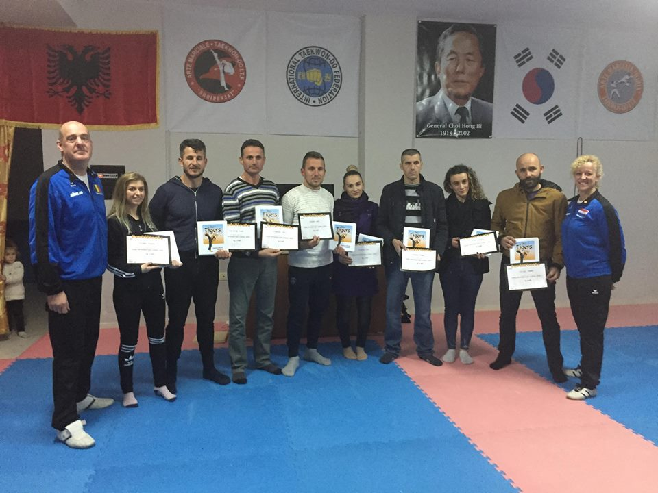 Level 1 New Country Instructors 09-12-2018 Albania
